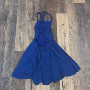 Lulu's Dresses - royal blue lulus homecoming dress